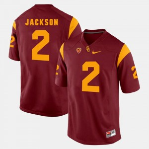 Adoree' Jackson USC Jersey Red Pac-12 Game For Men's #2 731188-970