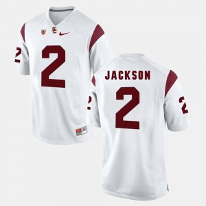 Adoree' Jackson USC Jersey For Men's Pac-12 Game #2 White 118848-548