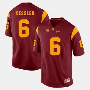 Red Men Pac-12 Game Cody Kessler USC Jersey #6 847015-621