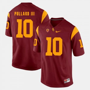 Hayes Pullard III USC Jersey Pac-12 Game For Men #10 Red 935651-403