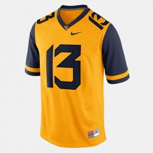 #13 Andrew Buie WVU Jersey Gold College Football Youth 344400-719