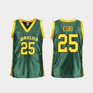 Green Replica Queen Egbo Baylor Jersey College Basketball #25 Ladies 754797-928
