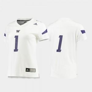 Washington Jersey Replica White Football For Women's #1 237573-543