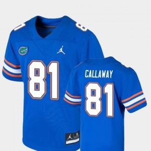 College Football Antonio Callaway Gators Jersey For Kids Game #81 Royal 683539-756