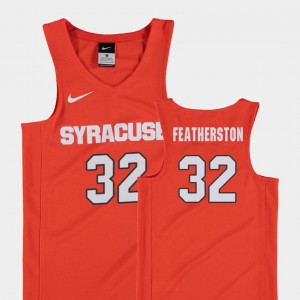 Orange #32 Ray Featherston Syracuse Jersey Youth College Basketball Replica 232313-603